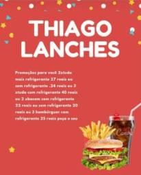 Título do anúncio: Thiago lanches tel ZAP * ou *