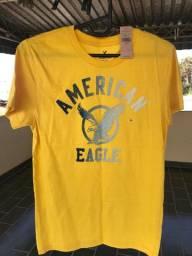 Camiseta American Eagle Tamanho XS - Nova