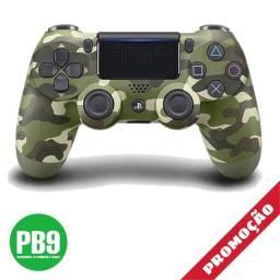 Controle PS4 Sony Dualshock (Camuflado Verde)