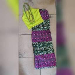 Calça indiana viscose veste de 38 ao 44