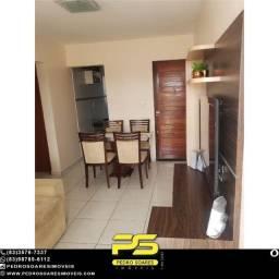 Apartamento com 2 dormitórios à venda, 54 m² por R$ 135.000 - Ernesto Geisel - João Pessoa