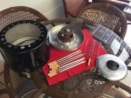 Churrasqueira portátil grillex