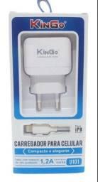 Kit carregador Iphone marca kingo