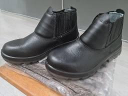 Título do anúncio: Bota Sapato de Segurança Preta