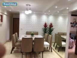 Apartamento com 3 dormitórios à venda, 85 m² por R$ 370.000,00 - Centro - Caldas Novas/GO