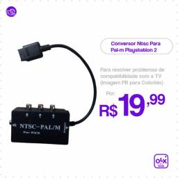 Conversor Ntsc Para Pal-m Playstation 2