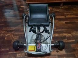 Título do anúncio: Vendo Kart Elétrico Razor Prata, Raridade IMPERDÍVEL!!!