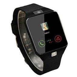 Receba em 24h! Relógio Smartwatch DZ09 - atenda ligações sem pegar no celular