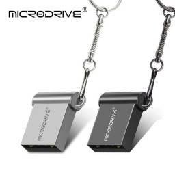 Título do anúncio: Mini Pendrive MicroDrive 32Gb/64gb para músicas arquivos e outros