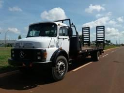 Caminhão Plataforma MB 1314 ano 87