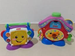 Título do anúncio: Brinquedos Fisher price interativos