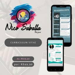 Título do anúncio: Curriculum Vitae - Curriculim Digital