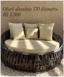 Título do anúncio: Ofuro aluminio 1.70 diametro