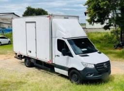 Título do anúncio: Sprinter Baú 2018 Veículo completo sem detalhes