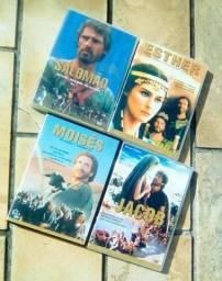 4 Dvds (Filmes Bíblicos)