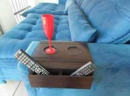 Porta copos para sofá