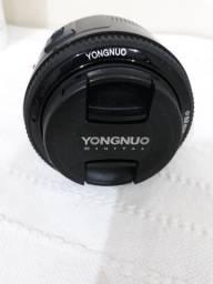Lente 50mm yongnuo