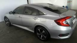 Honda Civic 2017/17 Prata EX automático baixa km - 2017