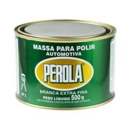 Massa de Polir n2 Extra fina 500 gramas Perola