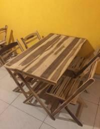 Mesa de madeira (ideal para bar e restaurante) novas
