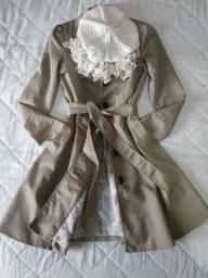 Casaco Trench Coat acinturado HeM