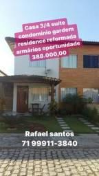 3/4 suíte Gardem residêncie móveis planejados 388 mil