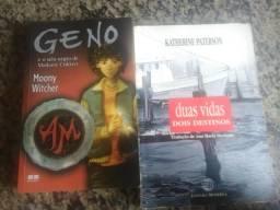 Dois livros por R$ 20,00