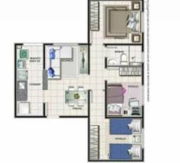 Apartamento 3/4 Citta Maris Br316 km12