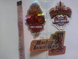 Adesivo Sticker Motor Harley Davidson Capacete Moto Carro Vidro Lataria
