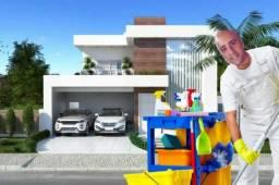 Limpeza de casas para venda e locação