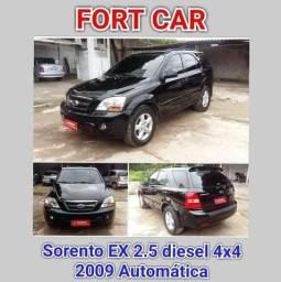 Sorento EX 2.5 diesel 4x4 Automática - 2009