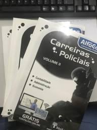 Coleção de livros concurso carreira policial