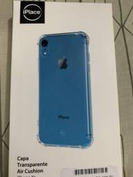 Vendo um iPhone XR azul 128 gb semi novo