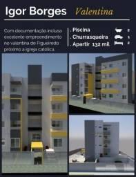Apartamento no Valentina por R$: 132 mil reais