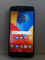 Moto e4 funciona so metade do display