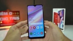 Celular Samsung A10S vermelho
