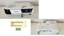 Projetor Epson X24+ WiFi