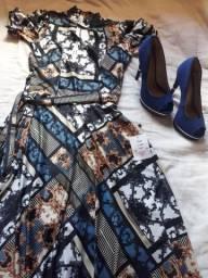100,00 vestido e dois sapatos novos,nunca usados