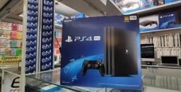 Playstation 4 Pro 1TB Lacrado com nota e garantia! aceitamos seu console de entrada