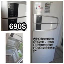 Geladeira fross free 450 litros