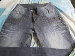 Calças  , schorte , bermudas ,saia jeans  44/46