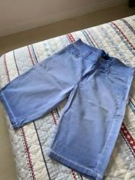 Bermuda Jeans Masculina TAM M