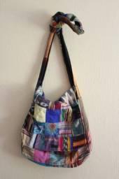 Linda bolsa unisex importada da Guatemala 30cm x 30cm