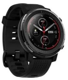 Relógio Smart Amazfit Stratos 3 - música - não é Garmin
