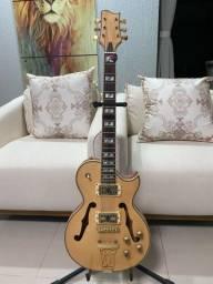 Guitarra Golden Les Paul Gsh 570 Natural