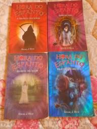 4 livros de Hora do Espanto
