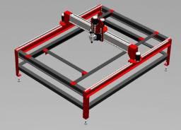 CNC Router, Laser, e Impressora 3D