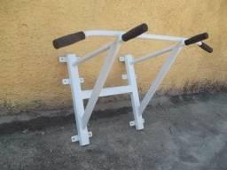 Barra fixa de parede material reforçado com 12 parabolts suporta 140 kg