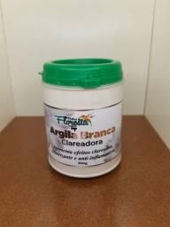 Título do anúncio: Argila branca clareadora 350g
