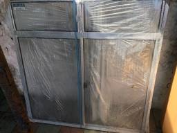 Título do anúncio: Vendo janela de alumínio nova